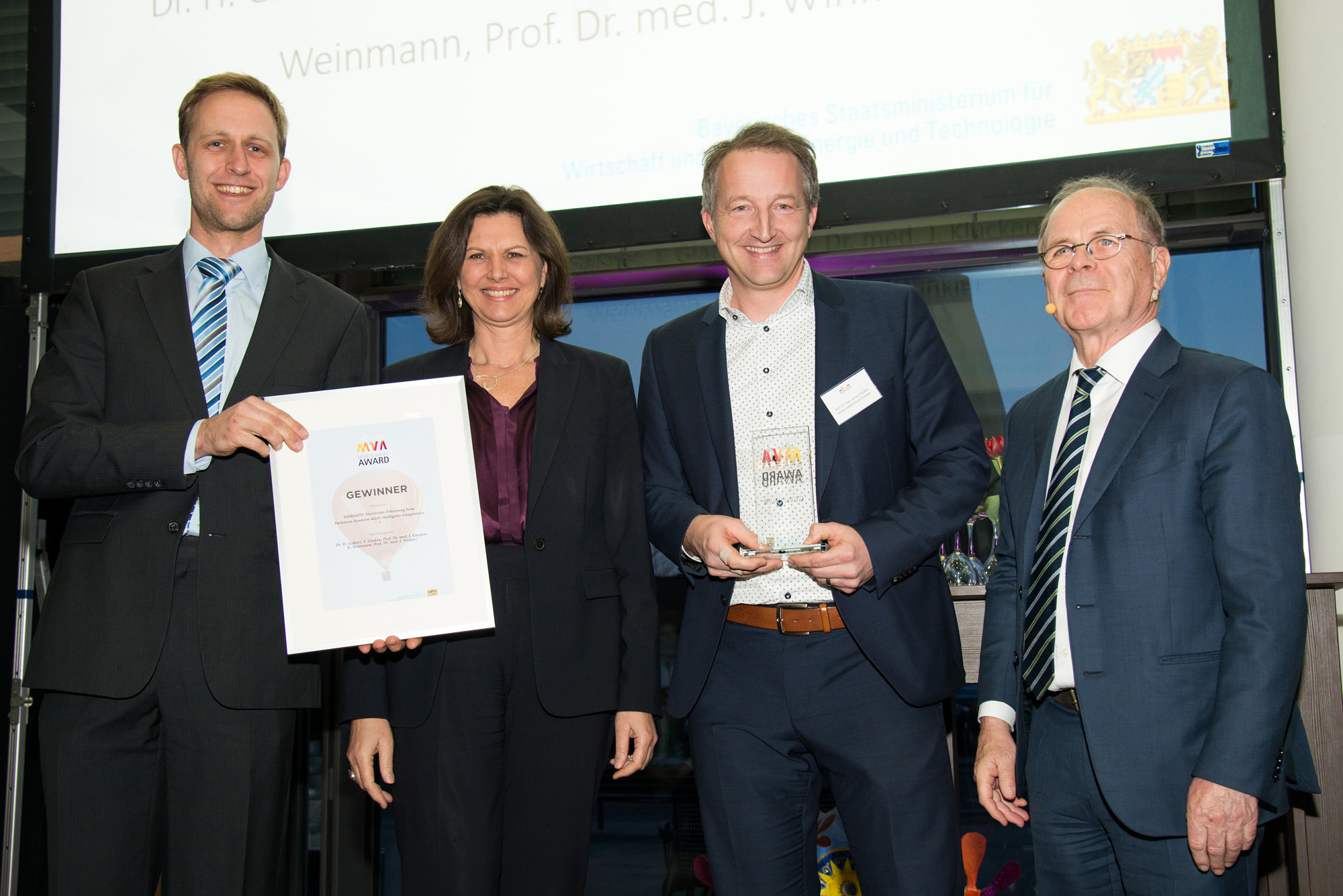"Towards entry ""We proudly present our  Medical Valley Award Winners"""