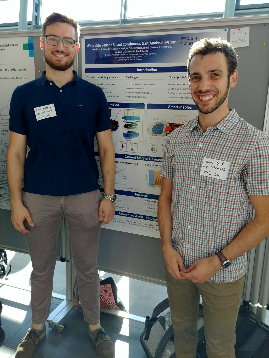 "Towards entry ""Arne and Martin @FAU Neuroscience Poster-Day"""